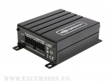 PXA P66 - 6 CHANNEL DSP - ISO DIN PLUG - BT (incl. 1.8m Harness - excl. BTD)